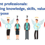 combining knowledge, skills, values ​​and purpose