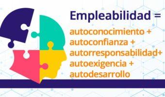 Empleabilidad = autoconocimiento + autoconfianza + autorresponsabilidad + autoexigencia + autodesarrollo
